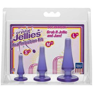Crystal Jellies Anal Initiation Kit