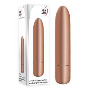 Adam & Eve Eve's Copper Cutie Rechargeable Bullet