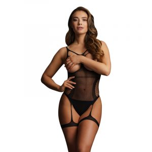LE DESIR BLISS Open-Cup Strappy Teddy